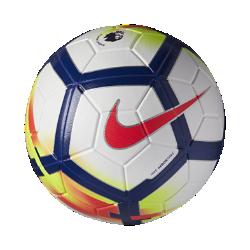 Футбольный мяч Nike Barclays League MagiaФутбольный мяч Nike Premier League Magia имеет микротекстурное покрытие и желобки Nike Aerowtrac для точности траектории полета и полного контроля мяча.<br>