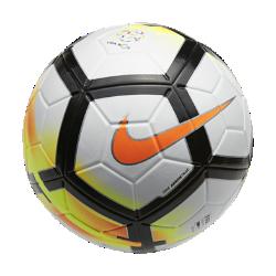 Футбольный мяч Nike Ordem V Liga NOSФутбольный мяч Nike Ordem V Liga NOS имеет микротекстурное покрытие и желобки Nike Aerowtrac для точной траектории полета и полного контроля мяча.<br>