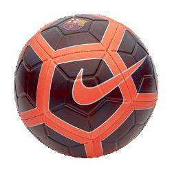 Футбольный мяч FC Barcelona StrikeФутбольный мяч FC Barcelona Strike с усиленной резиновой камерой и контрастной графикой обеспечивает улучшенный контроль и хорошо заметен на поле.<br>