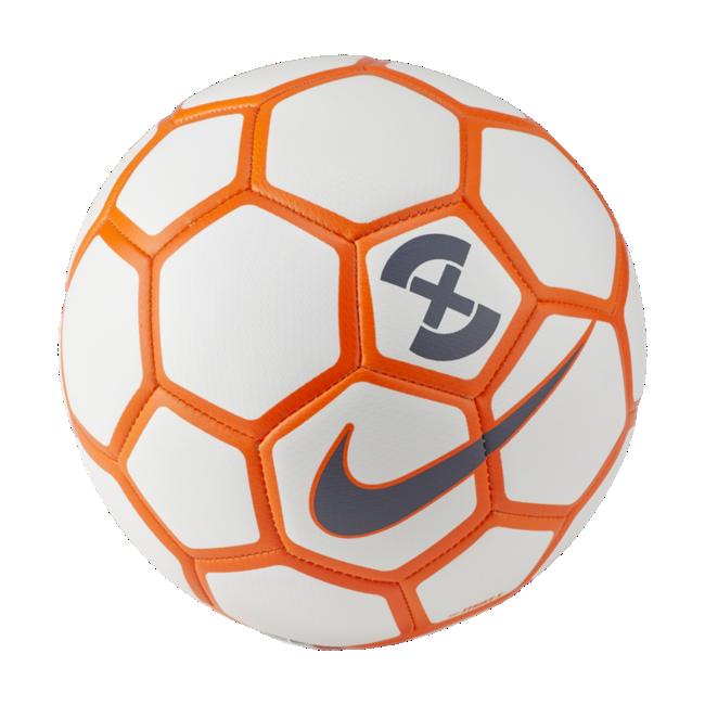 Nike voetbaltas wit