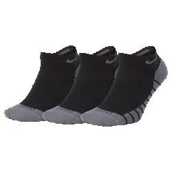 <ナイキ(NIKE)公式ストア>ナイキ パフォーマンス ノーショウ ゴルフソックス (3足) SG0781-010 ブラック 30日間返品無料 / Nike+メンバー送料無料画像