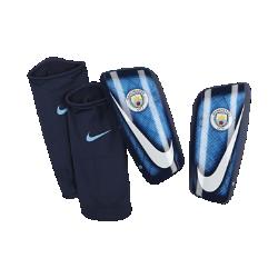 Футбольные щитки Manchester City FC Mercurial LiteФутбольные щитки Manchester City FC Mercurial Lite с воздухопроницаемой вставкой и прочным, но легким каркасом надежно защищают от ударных нагрузок.<br>