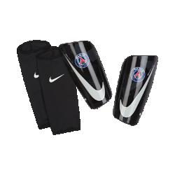 Футбольные щитки Paris Saint-Germain Mercurial LiteФутбольные щитки Paris Saint-Germain Mercurial Lite с воздухопроницаемой вставкой и прочным, но легким каркасом надежно защищают от ударных нагрузок.<br>