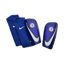 Футбольные щитки Chelsea FC Mercurial LiteФутбольные щитки Chelsea FC Mercurial Lite с воздухопроницаемой вставкой и прочным, но легким каркасом надежно защищают от ударных нагрузок.<br>