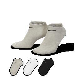 Носки Nike Value No-Show (3 пары)Легкие носки Nike Value No-Show из мягкой эластичной ткани обеспечивают плотную удобную посадку.<br>