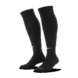 Футбольные носки Nike ClassicФутбольные носки Nike Classic из легкой ткани Dri-FIT с поддержкой свода стопы обеспечивают комфорт во время игры.<br>