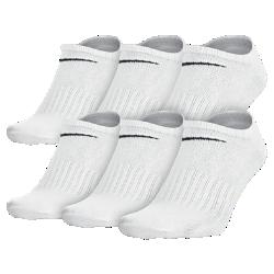 Носки Nike Non-Cushion No-Show (6 пар)Носки Nike Non-Cushion No-Show (6 пар) с поддерживающей посадкой из усиленной смесовой ткани обеспечивают длительный комфорт и стабилизацию.<br>