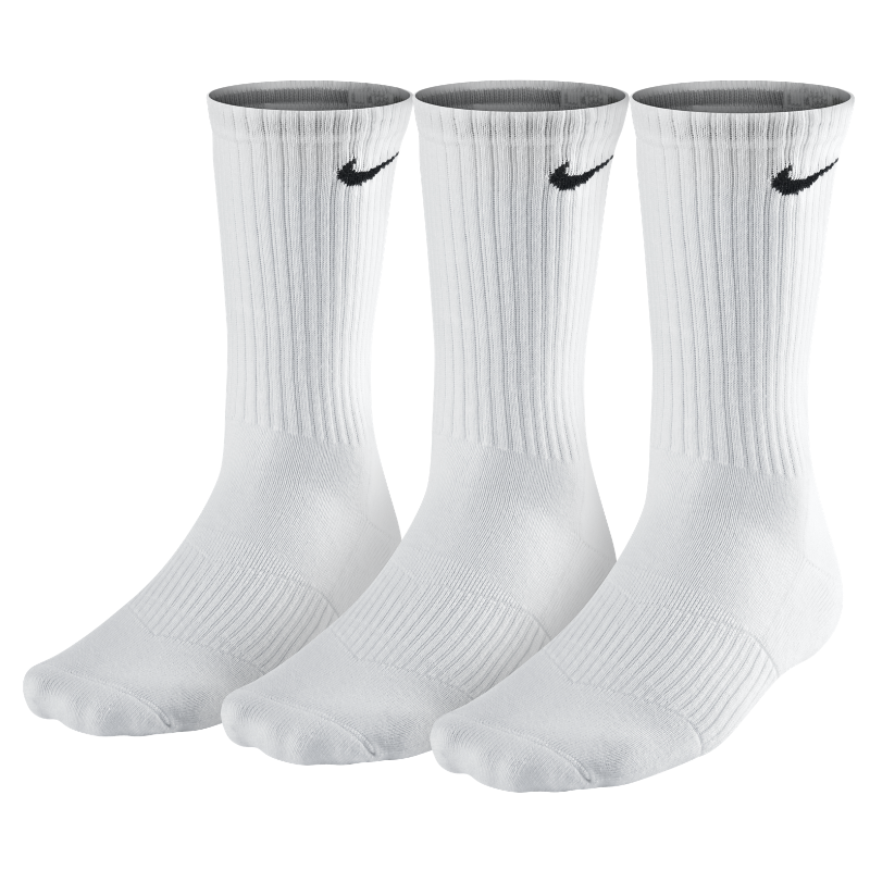 Image For Nike Cotton Cushion Crew Socks (3 Pair)