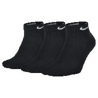 <ナイキ(NIKE)公式ストア>ナイキ Dri-FIT ノンクッション ローカット トレーニングソックス (3足) SX4701-001 ブラック画像