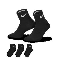 Носки Nike Lightweight Quarter (большой размер/3 пары)Прочные и поддерживающие носки Nike Lightweight Quarter (большой размер/3 пары) с усиленной строчкой и поддержкой свода стопы для плотной посадки.<br>