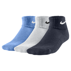 Image of Calze Nike Performance Cushion Quarter - Ragazzi (3 paia)