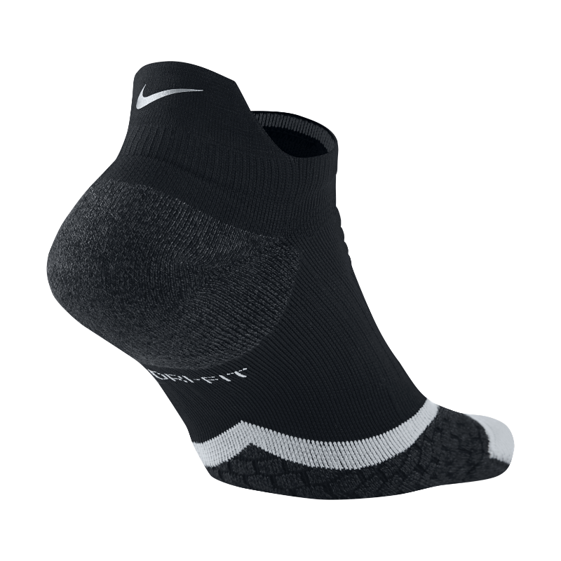 Image For Nike Elite Cushioned No-Show Tab Running Socks