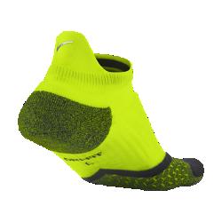 Носки для бега Nike Elite Cushioned No-Show TabНоски для бега Nike Elite Cushioned No-Show Tab из инновационной влагоотводящей ткани обеспечивают вентиляцию и зональную амортизацию для дополнительного поглощения удара.<br>
