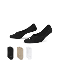 Носки Nike Lightweight No-Show (3 пары)Носки Nike Lightweight No-Show (3 пары) из эластичной смесовой ткани на основе хлопка с сетчатыми вставками обеспечивают воздухопроницаемость и плотную, удобную посадку.<br>