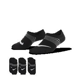 Носки для тренинга Nike Lightweight (3 пары)Носки для тренинга Nike Lightweight из эластичной ткани обеспечивают плотную удобную посадку и вентиляцию.  Плотная посадка и надежная защита  Скрытый ремешок в области свода стопы обеспечивает плотную посадку и комфорт и препятствует образованию складок.<br>