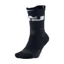 Баскетбольные носки Nike LeBron Elite Versatility CrewБаскетбольные носки Nike LeBron Elite Versatility Crew с зонами вентиляции и усиленной амортизацией обеспечивают комфорт и защиту от ударных нагрузок при приземлении.<br>