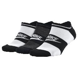 Носки Nike Sportswear No Show (3 пары)Носки Nike Sportswear No Show из мягкой смесовой ткани с системой поддержки свода стопы обеспечивают комфорт на весь день.<br>