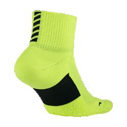 Носки для бега Nike Elite Cushion QuarterБлагодаря продуманному расположению амортизирующих вставок носки для бега Nike Elite Cushion Quarter обеспечивают исключительную защиту от ударных нагрузок километр за километром.<br>