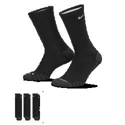 Носки для тренинга Nike Dry Cushion Crew (3 пары)Носки для тренинга Nike Dry Cushion Crew из влагоотводящей ткани обеспечивают комфорт во время тренировки.<br>