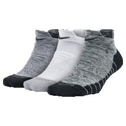 Носки для тренинга Nike Dry Cushion Graphic Low (3 пары)Носки для тренинга Nike Dry Cushion Graphic Low из влагоотводящей ткани обеспечивают комфорт во время тренировки.<br>