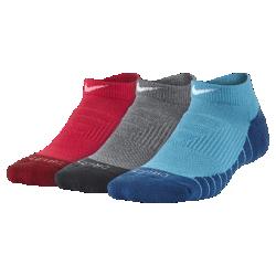 Носки для школьников Nike Dry Cushion Crew No-Show (3 пары)Носки для школьников Nike Dry Cushion Crew No-Show (3 пары) из влагоотводящей ткани обеспечивают оптимальную поддержку свода стопы для комфорта.<br>