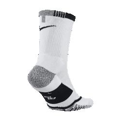 Теннисные носки NikeGrip Elite CrewТеннисные носки NikeGrip Elite Crew с усовершенствованной технологией сцепления обеспечивают комфорт и стабилизацию при рывках, выпадах и приеме мяча.  МАКСИМАЛЬНОЕ СЦЕПЛЕНИЕ  Уникальный рисунок прострочки в передней части обеспечивает плотную посадку, предотвращая скольжение и создавая ощущение комфорта.  ОПТИМАЛЬНАЯ ВОЗДУХОПРОНИЦАЕМОСТЬ  Вставки из сетки на верхней части обеспечивают ощущение прохлады во время динамичной игры.  ЗОНАЛЬНАЯ АМОРТИЗАЦИЯ  Мягкая амортизация в передней части и области пятки для максимального комфорта во время игры.<br>