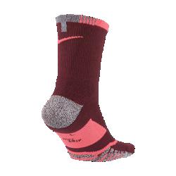 Теннисные носки NikeGrip Elite CrewТеннисные носки NikeGrip Elite Crew с усовершенствованной технологией сцепления обеспечивают комфорт и стабилизацию при рывках, выпадах и приеме мяча.<br>