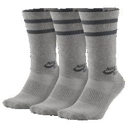 Носки для скейтбординга Nike SB Dry Crew (3 пары)Носки для скейтбординга Nike SB Dry Crew из мягкой влагоотводящей ткани с легкой системой амортизации обеспечивают вентиляцию и комфорт во время катания.<br>