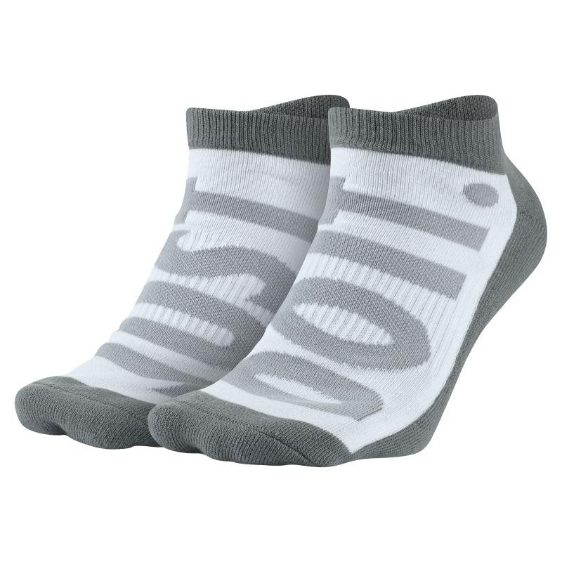 Nike Sportswear No-Show Socks (2 Pair) - Grey Image