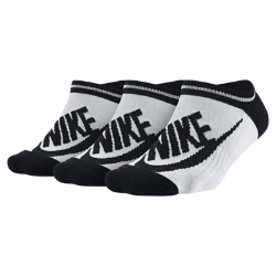 Носки Nike Sportswear Striped No-Show (3 пары)Носки Nike Sportswear Striped No-Show дополнены эластичной лентой в области свода стопы и усиленной областью пятки и носка для прочности.<br>