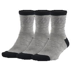 Носки Nike Sportswear Striped Low Crew (3 пары)Носки Nike Sportswear Striped Low Crew дополнены эластичной лентой в области свода стопы и усиленной областью пятки и носка для прочности.<br>