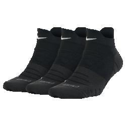 Женские носки для тренинга Nike Dry Cushion Low (3 пары)Женские носки для тренинга Nike Dry Cushion Low из влагоотводящей ткани обеспечивают комфорт во время тренировки.<br>
