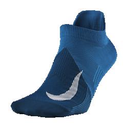 <ナイキ(NIKE)公式ストア>ナイキ エリート ライトウェイト ノーショウ ランニングソックス SX6262-301 ブルー 30日間返品無料 / Nike+メンバー送料無料画像