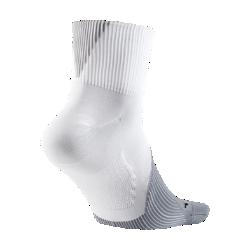 <ナイキ(NIKE)公式ストア>ナイキ エリート ライトウェイト クォーター ランニングソックス SX6263-100 ホワイト 30日間返品無料 / Nike+メンバー送料無料画像
