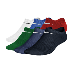 Детские носки для тренинга Nike Performance Lightweight No-Show (6 пар)Детские носки для тренинга Nike Performance Lightweight No-Show (6 пар) из ультрамягкой влагоотводящей ткани обеспечивают комфорт каждый день, в любой ситуации.<br>