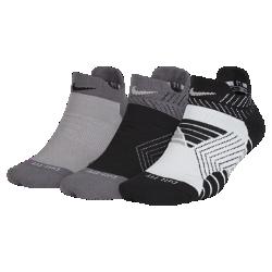 Носки для тренинга Nike Cushioned Graphic Low (3 пары)Носки для тренинга Nike Cushioned Graphic Low из влагоотводящей ткани обеспечивают комфорт во время тренировки.<br>