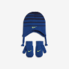 Deals on Nike Toddlers Stripe Knit Hat and Mittens Set