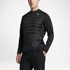 Deals on Nike AeroLoft HyperAdapt Crew Mens Golf Sweatshirt
