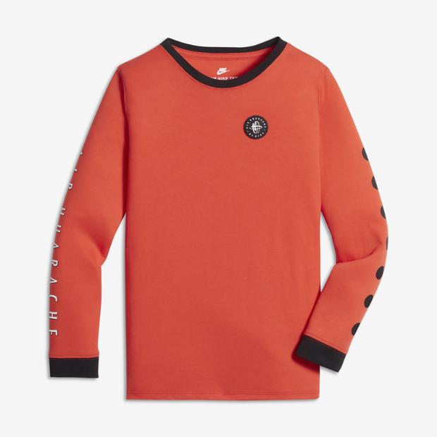 Nike Sportswear Logo Big Kids 39 Boys 39 Long Sleeve T Shirt