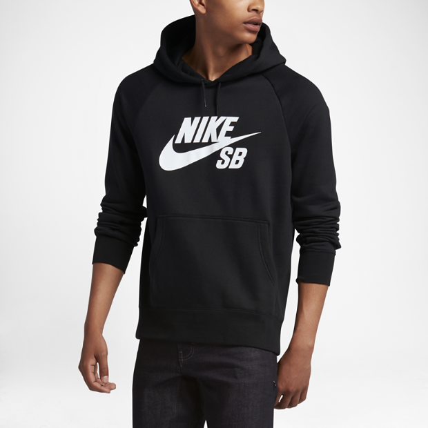 nike sb icon men 39 s hoodie. Black Bedroom Furniture Sets. Home Design Ideas