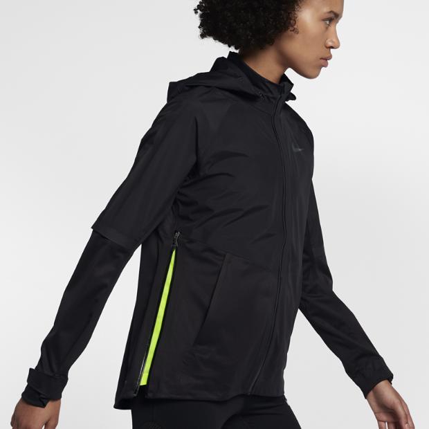 nike aeroshield women 39 s running jacket. Black Bedroom Furniture Sets. Home Design Ideas