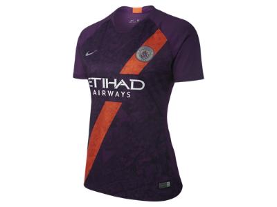 Nike Breathe Manchester City FC Stadium Camiseta de manga corta - Mujer.  Nike.com ES 1da46760b3bed