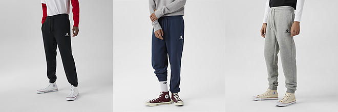 converse shoes pants
