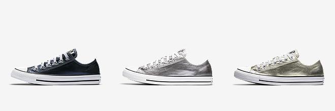 converse simple slip silver