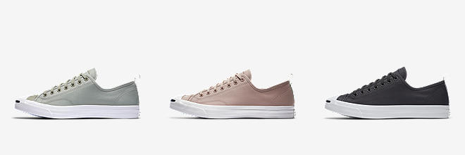 Converse Jack Purcell Tumbled Leather. Low Top Unisex Shoe. $70. Prev. Next