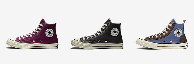 tall high top converse women