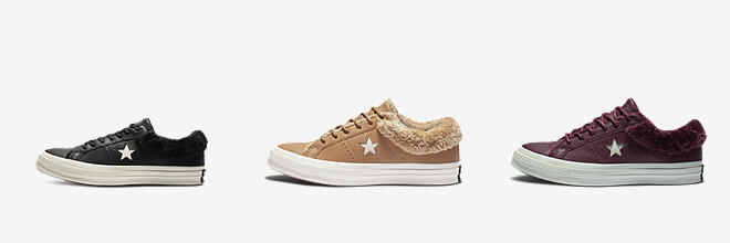 329fb9c3a Prev. Next. 3 Colors. Converse One Star Street Warmer Leather Low Top.  Women s Boot