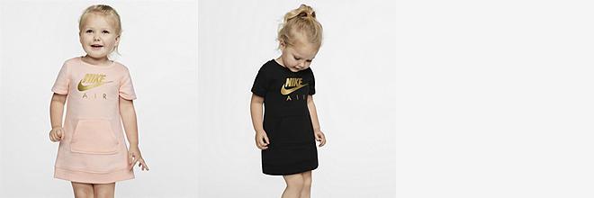 9d021170f Prev. Next. 2 Colors. Nike Sportswear Air. Toddler Short-Sleeve Fleece Dress