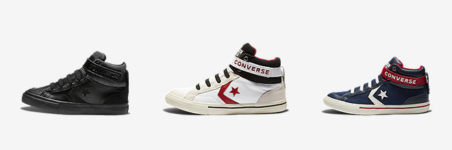maroon converse high tops kids