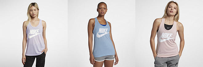 Next. 5 Colours. Nike Sportswear Essential. Women's Logo Tank